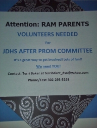 After Prom Flyer