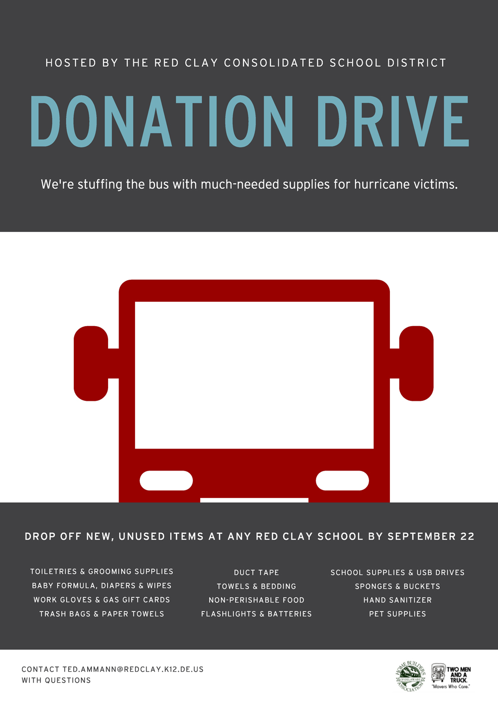 Hurricane-Donation-Drive-Poster